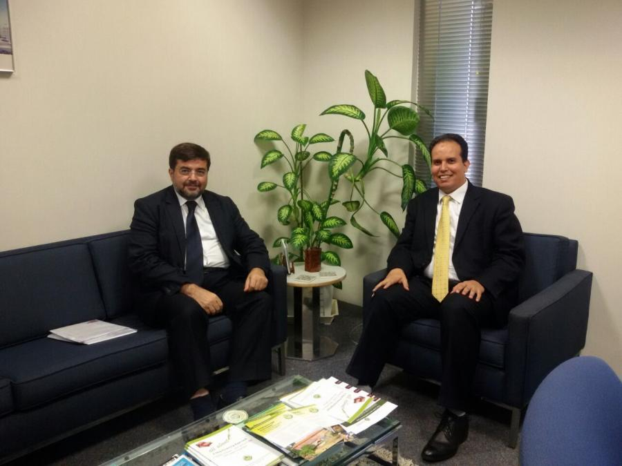 With Mr. Anasse Aissami, IDB OPSD Director